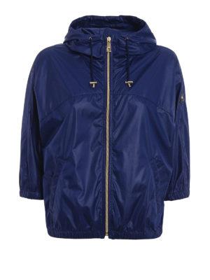 Fay: casual jackets - Hooded kimono sleeve windbreaker