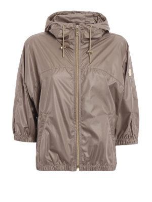 Fay: casual jackets - Kimono sleeve hooded windbreaker
