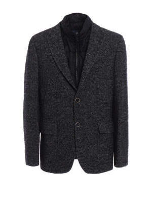 Fay: casual jackets - Knickerbocker wool Double Jacket