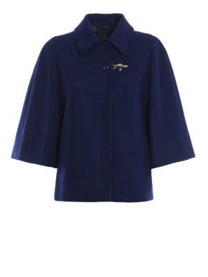 FAY: giacche casual - Giacca stile mantella in misto lana