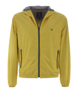 Fay: casual jackets - Light nylon hooded jacket