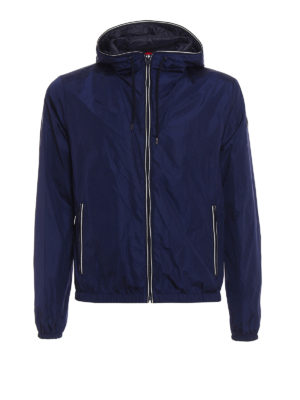 Fay: casual jackets - Light water resistant blue jacket