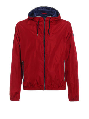 Fay: casual jackets - Light water resistant red jacket