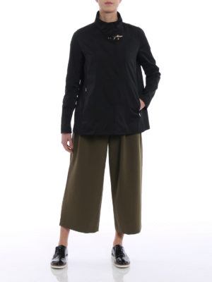 Fay: casual jackets online - City Spring ultralight black jacket