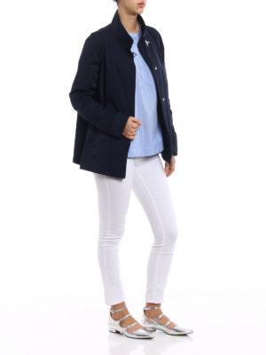 Fay: casual jackets online - City Spring ultralight blue jacket