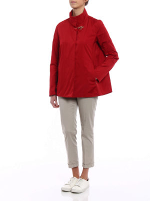 Fay: casual jackets online - City Spring ultralight red jacket