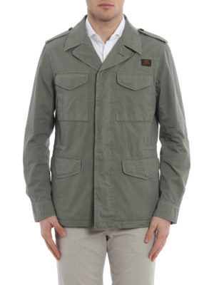 Fay: casual jackets online - Cotton field jacket