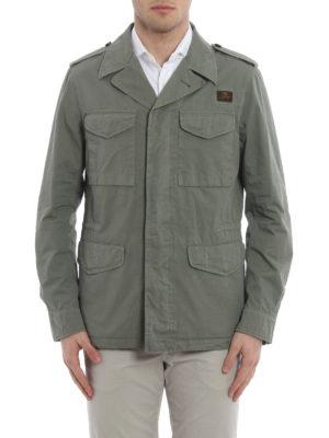 Fay: casual jackets online - Cotton field jacket