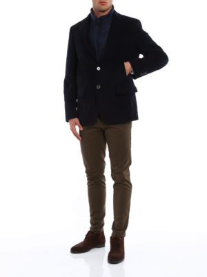 Fay: casual jackets online - Detachable vest detailed jacket