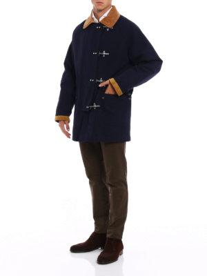 Fay: casual jackets online - Four hooks duffle jacket