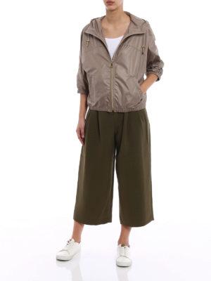 Fay: casual jackets online - Kimono sleeve hooded windbreaker