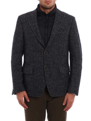 Fay: casual jackets online - Knickerbocker wool Double Jacket