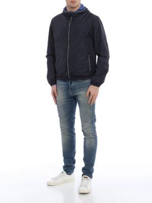 Fay: casual jackets online - Light nylon hooded jacket