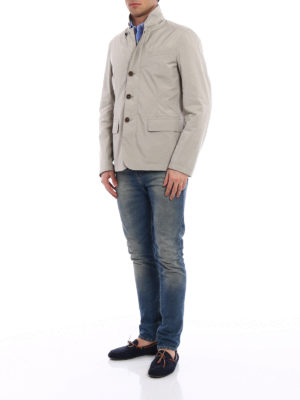 Fay: casual jackets online - Lightweight beige field jacket