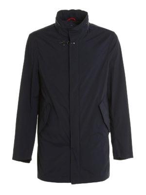Fay: casual jackets - Stretch high-tech fabric jacket