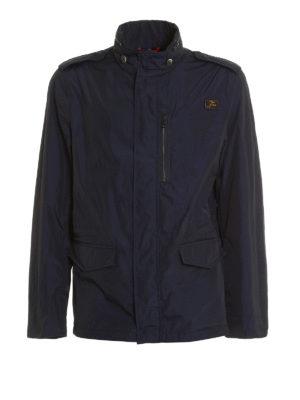 Fay: casual jackets - Waterproof nylon field jacket