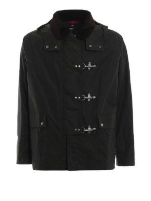 FAY: giacche casual - Giaccone in cotone cerato stile inglese