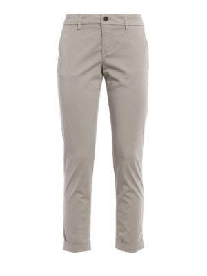Fay: casual trousers - Cotton chino trousers