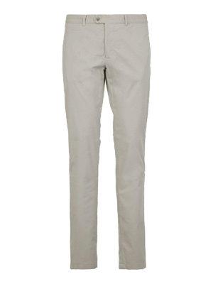 FAY: pantaloni casual - Pantaloni slim in gabardina