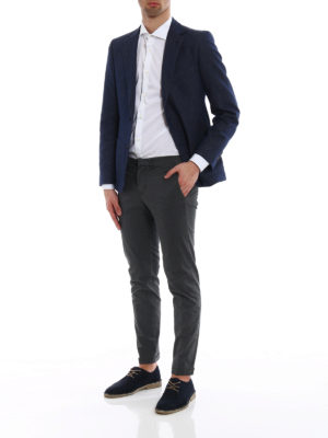 Fay: casual trousers online - Five pockets chino trousers