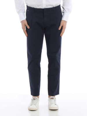 Fay: casual trousers online - Stretch cotton chino trousers
