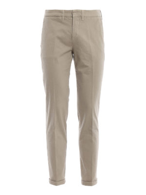 FAY: pantaloni casual - Pantaloni beige in morbido cotone