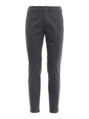 FAY: pantaloni casual - Pantaloni grigi scuri in morbido cotone