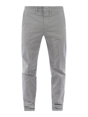 Fay: casual trousers - Stretch cotton capri trousers