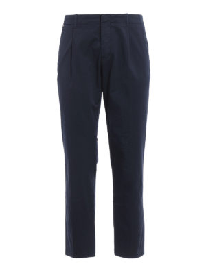 Fay: casual trousers - Stretch cotton chino trousers