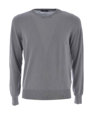 Fay: crew necks - Cotton crew neck sweater