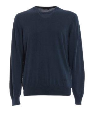 Fay: crew necks - Cotton crew neck sweater