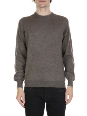Fay: crew necks online - Classic virgin wool sweater