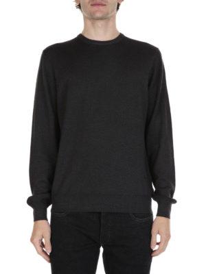 Fay: crew necks online - Classic virgin wool sweater