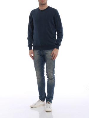 Fay: crew necks online - Cotton crew neck sweater