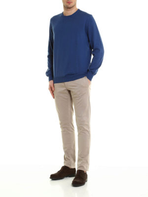Fay: crew necks online - Lightweight cotton sweater