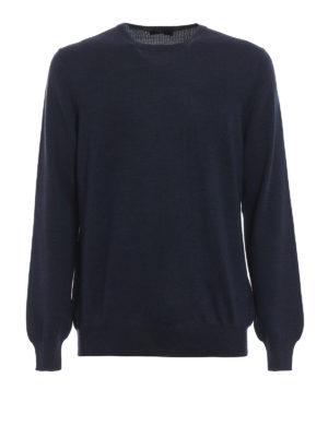 FAY: maglia collo rotondo - Maglia girocollo in lana vergine