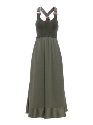 Fay: maxi dresses - Sleeveless combo dress