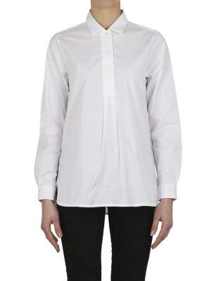 FAY: bluse online - Blusa in popeline di cotone