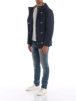 FAY: giacche casual online - Giacca iconica 4 Ganci blu