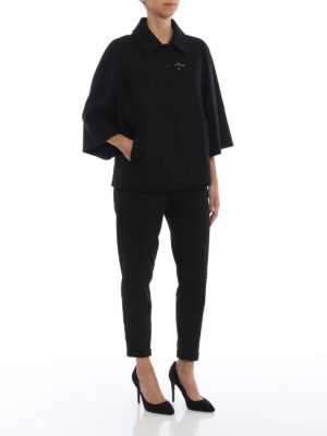 FAY: giacche casual online - Giacca stile mantella in lana e cashmere