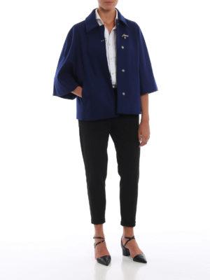 FAY: giacche casual online - Giacca stile mantella in misto lana