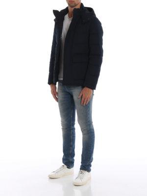 FAY: giacche casual online - Piumino in tessuto tecnico stretch trapuntato