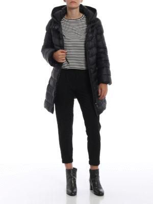 FAY: cappotti imbottiti online - Piumino in nylon con avvolgente cappuccio