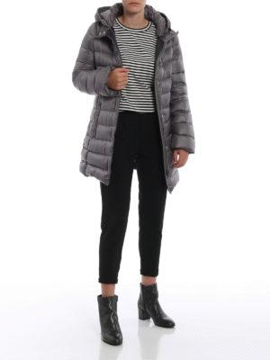 FAY: cappotti imbottiti online - Piumino in nylon con cappuccio avvolgente