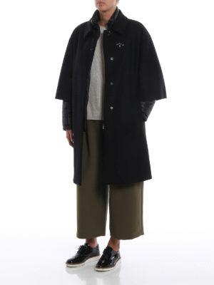 FAY: cappotti imbottiti online - Cappotto nero double front due in uno
