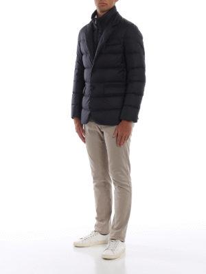 FAY: giacche imbottite online - Piumino corto stile blazer blu