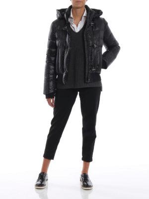 FAY: giacche imbottite online - Piumino trapuntato con cappuccio staccabile