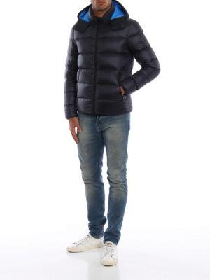 FAY: giacche imbottite online - Piumino in nylon con cappuccio staccabile