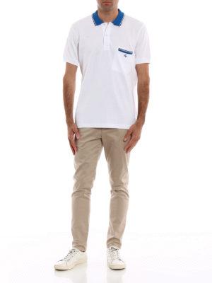 FAY: polo online - Polo bianca con taschino