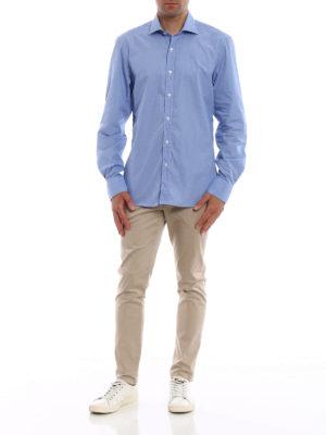 FAY: camicie online - Camicia classica in cotone fantasia